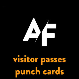 Visitor Passes + Punch Cards